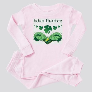 Irish Fighter Baby Pajamas