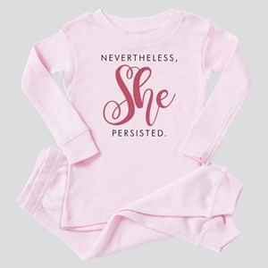 Nevertheless, She Persisted. Baby Pajamas
