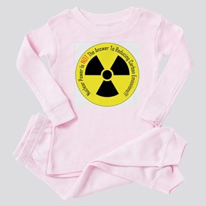 Nuclear Power Is NOT The Answer Baby Pajamas