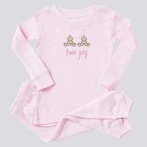 Twin Pregnancy Baby Pajamas - CafePress