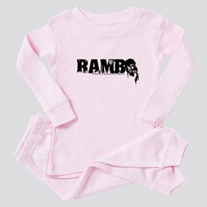 R is for Rambo Baby Pajamas