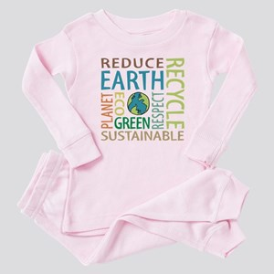 Earth Day Baby Pajamas