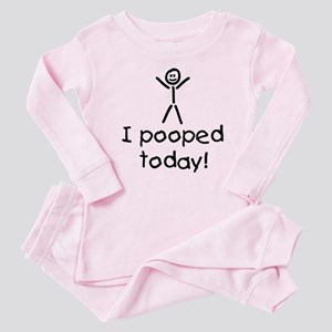 I Pooped Today Silly Baby Pajamas