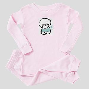 Bichon Frise Puppy Baby Pajamas