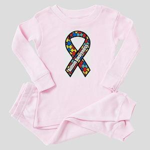 Autism Ribbon Baby Pajamas