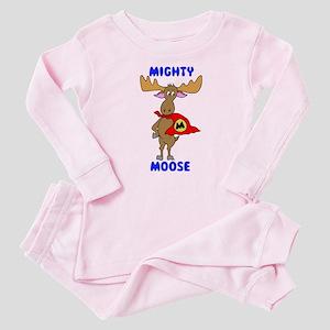 Mighty Moose Baby Pajamas