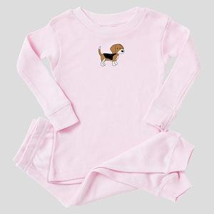 Cute Beagle Baby Pajamas