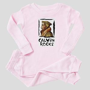 Calvin Rocks Baby Pajamas