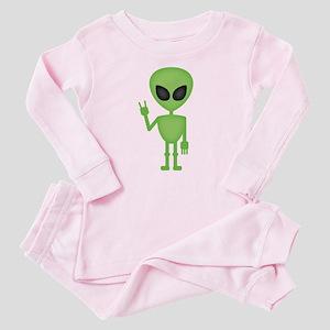 Aliens Rock Baby Pajamas