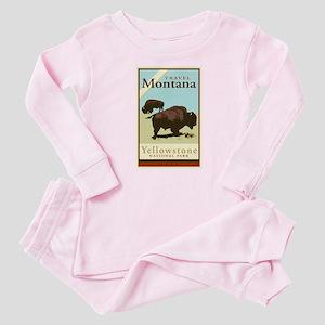 Travel Montana Baby Pajamas