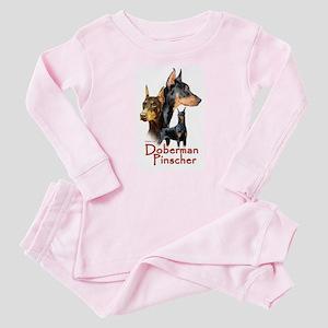 Doberman Pincher-1 Baby Pajamas