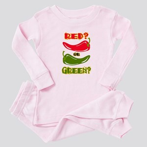 RED? OR GREEN? Baby Pajamas