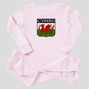 Wales Coat of Arms Baby Pajamas
