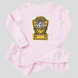 Minnesota State Patrol Baby Pajamas