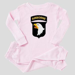 101st Airborne Division Baby Pajamas