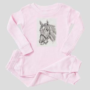 Horses Baby Pajamas