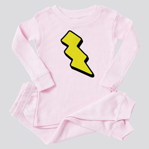 Lightning Bolt Baby Pajamas