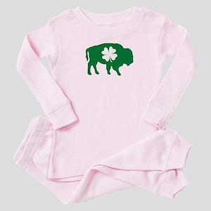Buffalo Clover Baby Pajamas
