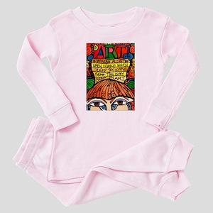 Art Brain Baby Pajamas