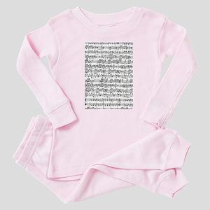 Music Baby Pajamas