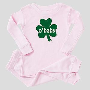 O'Baby Shamrock Baby Pajamas