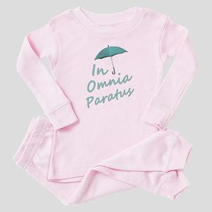 In Omnia Paratus Baby Pink Pajamas