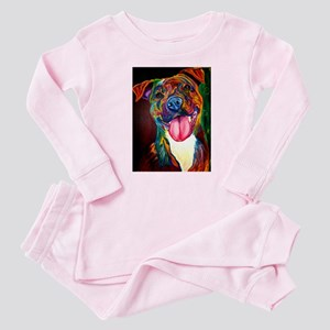 Pit Bull #7 Baby Pajamas