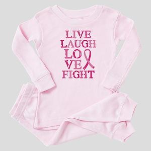 Live Love Fight Baby Pajamas