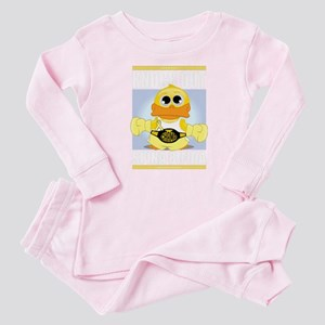 Knock-Out-Spina-Bifida-blk Baby Pajamas