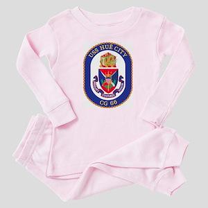 USS Hue City CG 66 Baby Pajamas