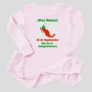 Viva México Baby Pajamas