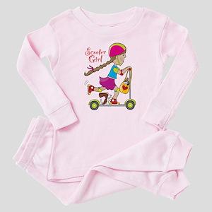 Scooter Girl Baby Pajamas