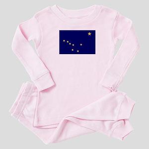 alaska flag Baby Pajamas