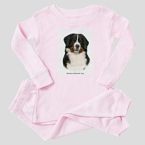 Bernese Mountain Dog 9Y348D-094 Baby Pajamas