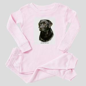 Labrador Retriever 9A054D-23a Baby Pajamas