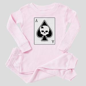 The Ace of Spades Baby Pajamas