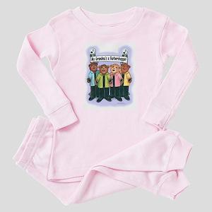 Grandma's a Barbershopper Baby Pajamas