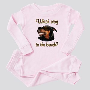 Beach Dobe Baby Pajamas
