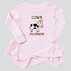 Awesome Cows Baby Pajamas