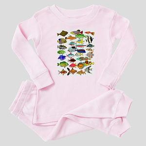 Tropical Fish ~ Baby Pajamas