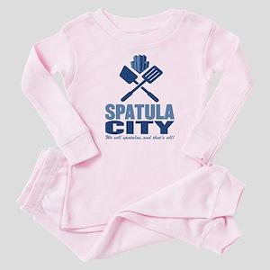 spatula city Baby Pajamas