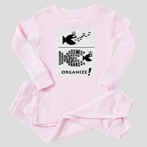 Organize Fish Baby Pajamas