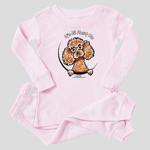 Apricot Poodle IAAM Baby Pajamas