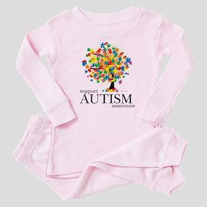 Autism Tree Baby Pajamas
