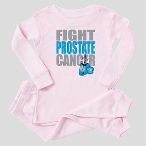 Fight Prostate Cancer Baby Pajamas