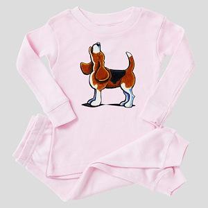 Tricolor Beagle Bay Baby Pajamas