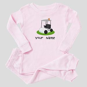 Golf Cart Gift For Golfer Baby Pajamas