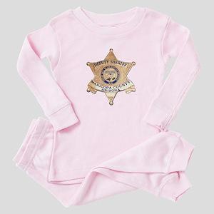 Maricopa County Sheriff Baby Pajamas