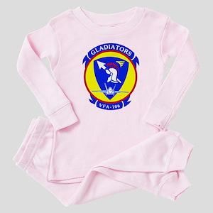 VFA 106 Gladiators Baby Pajamas