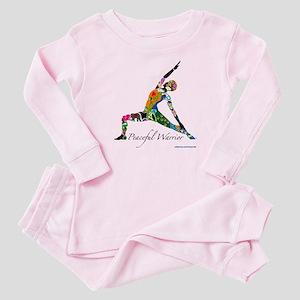 PeacefulWarriorT Baby Pajamas
